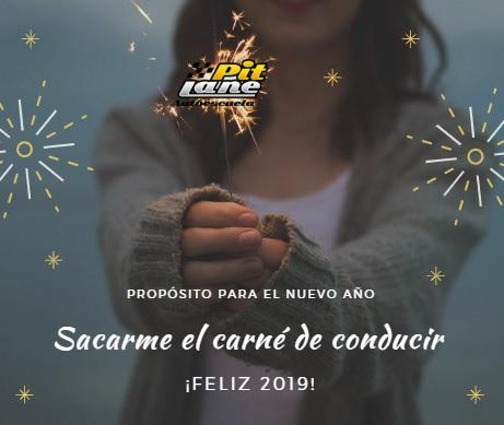 Autoescuela Pit Lane en El Boalo, os desea Feliz 2019
