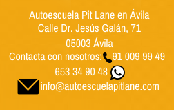 Autoescuela Pit Lane en Ávila