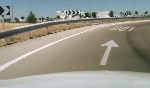 Carretera hacia la DGT